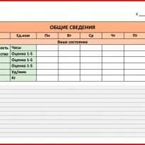 Дневник тренировок (общие сведения)