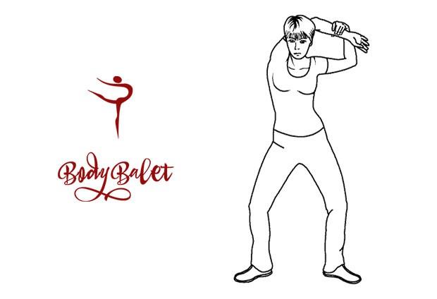Стретчинг: упражнение 7