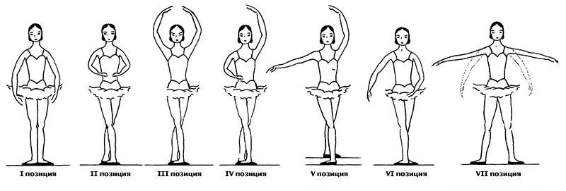 Позиции рук