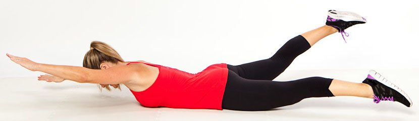 """Упражнение для спины """"Лодочка"""""""