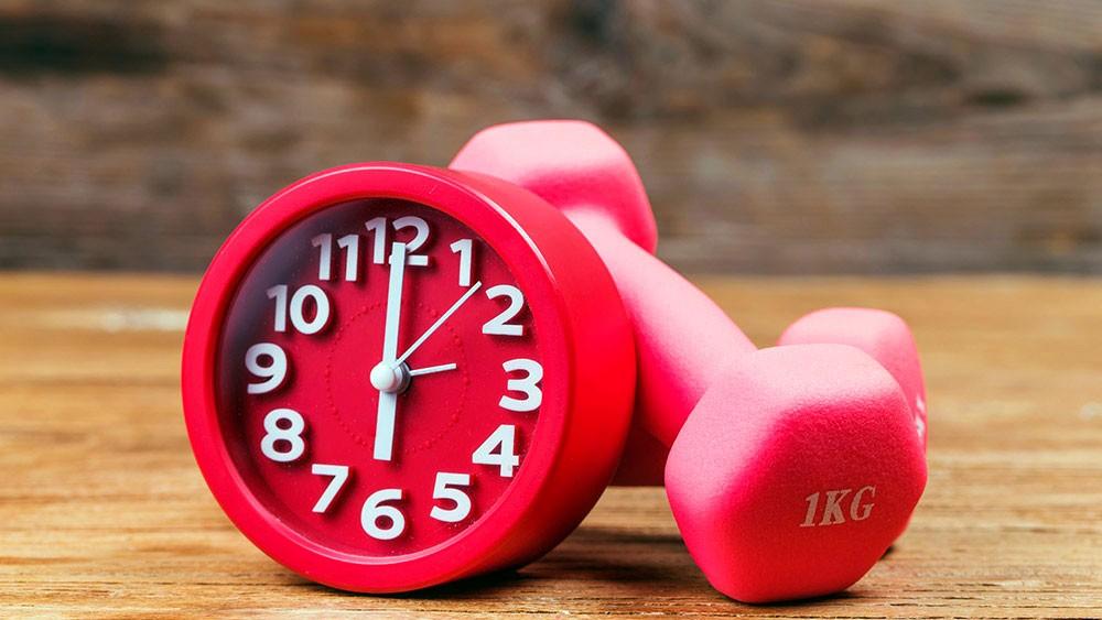 Правильное время для тренировок
